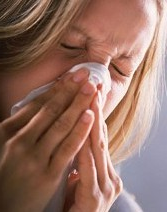 Woman Sneezing - Asthma Treatment